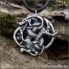 серебряный кельтский кулон с драконом купить в интернет-магазине