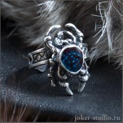 Красивое кольцо с Пауком амулет изобилия – значение паука