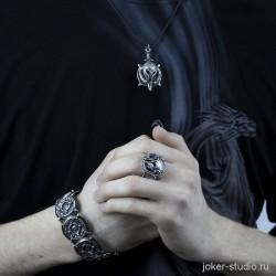 СКАЙРИМ ~ РАЗБОРНОЙ КУЛОН с НОРДСКИМ ШЛЕМОМ ЩИТОМ МАСКОЙ И МЕЧОМ