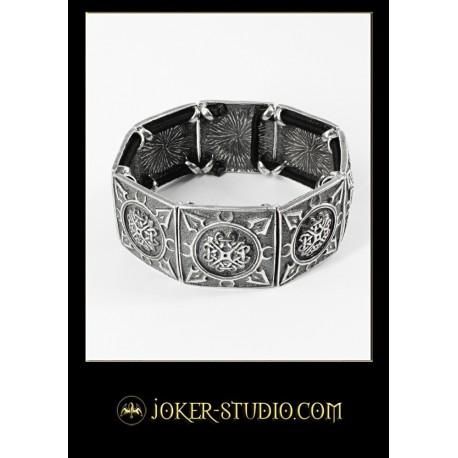 Женский браслет с кельтским узором символом богини возраждения Бригид