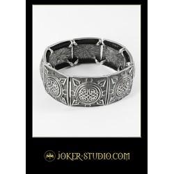 Модный браслет кельтский узел стильный аксессуар с лабиринтом жизни