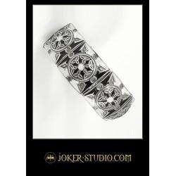 Дизайнерский ювелирный браслет с горячей эмалью в кельтском стиле