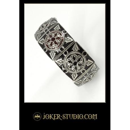 Эксклюзивная серебряная бижутерия с эмалью в кельтском стиле