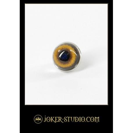 красивая серьга с глазом тигра стильный художественный аксессуар