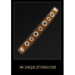 Молодежный кожаный браслет в рок-магазине Джокер
