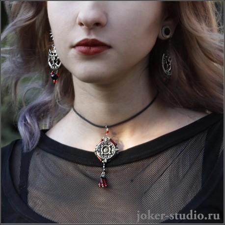 Кулон vegvisir женская ювелирная бижутерия