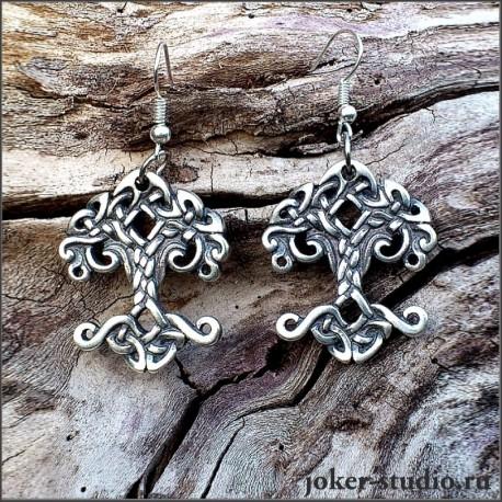 Амулет Иггдрасиль символ древних скандинавов от мастерской Джокер
