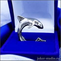 Кольцо акула купить в интернет магазине с доставкой