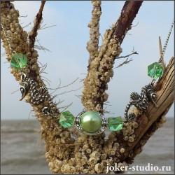 Морской конек колье символ нежности. Выбор мечтательных, утонченных и романтичных женщин.