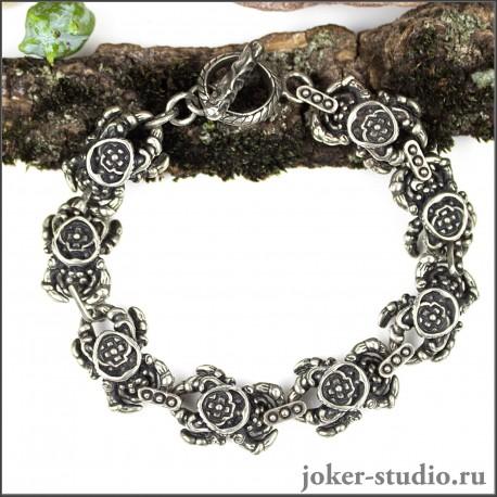 Ювелирный браслет пауки молодежная мода интернет-магазин Джокер
