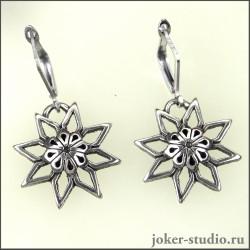 Купить Славянские серьги Алатырь в интернет-магазине Джокер