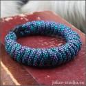 Молодежный браслет из паракорда с плетением «Штопор» стильный и полезный аксессуар