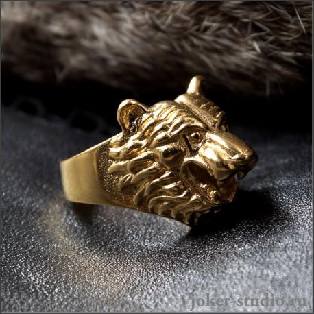 Медвежье кольцо золотое - купить в интернет-магазине Joker-studio