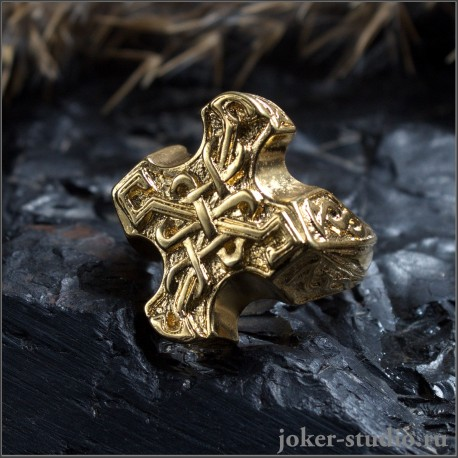 Кельтский крест кольцо - купить недорого 600 руб. ювелирная бижутерия