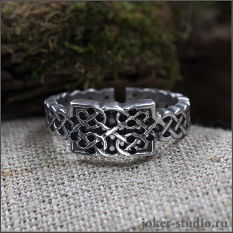 Купить кельтские кольца Хаммер - Серебряные украшения ювелирная бижутерия
