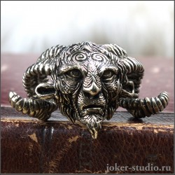 """Фавн кулон из бронзы красивое фэнтезийное украшение """"Лабиринт Фавна"""""""