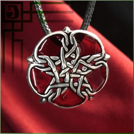 кулон Пентаграмма звезда с кельтским узором