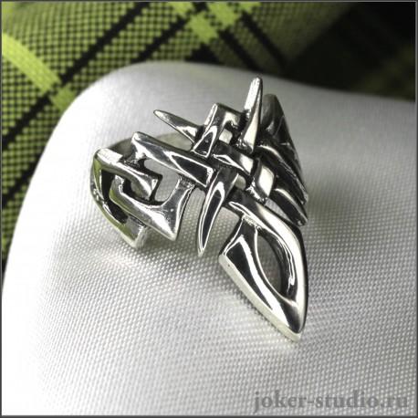 Кельтское кольцо оригинальной формы символ ирланской богини Даны