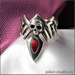 Кольцо с черепом дерзкое и привлекательное купить для девушки Кельтское украшение | Мастерская Джокер