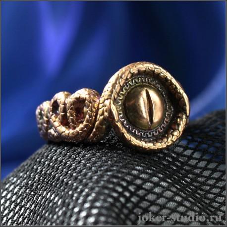 Купить кольцо змея из меди модное женское кольцо ювелирная бижутерия Минерва