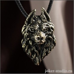 Подвеска волк маскот – купить Joker-studio | Ручная работа