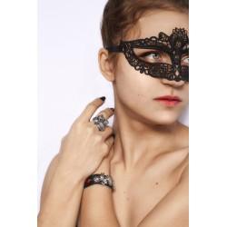 Украшения с драконами кольцо и кожаный браслет с сердцами красивый подарок девушке