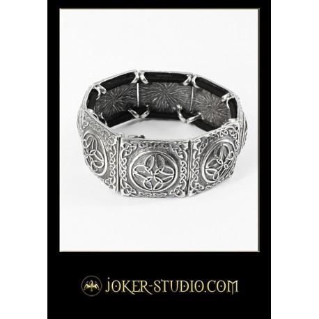 Мужской ювелирный браслет традиционным кельтским орнаментом