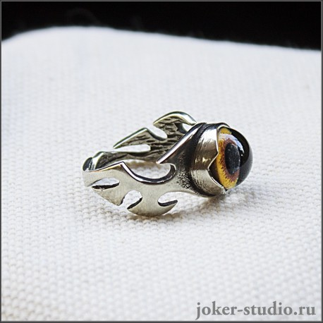 ювелирное кольцо с тигром амулет силы