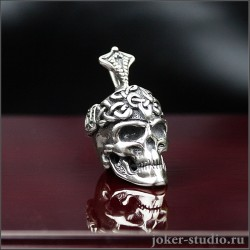 Купить кулон с черепом |подвески серебро и сталь для мужчины с быстрой доставкой