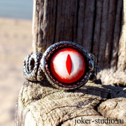 Гадюка - женское кольцо в форме змей обвиващих палец купить в мастерской Джокер