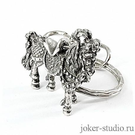 """Купить брелок """"Цирковая Лошадка"""" в мастерской Джокер"""