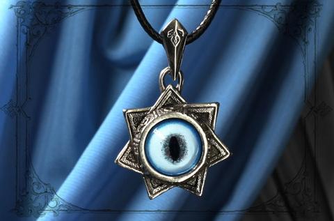 Волшебная Звезда магов кулон с глазом рыси